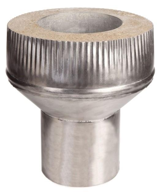 Адаптер (старт-переход) D130-150мм/230мм  L200 мм  AISI321 0,8 мм