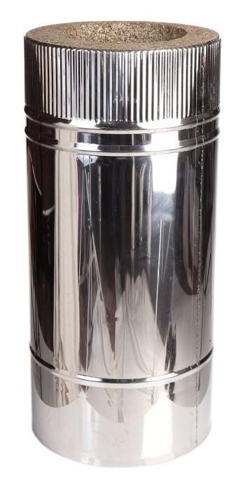 Труба дымовая L=500 мм D300мм/400мм Нерж AISI430 0.5мм