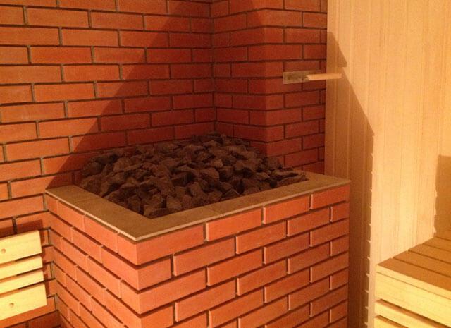 Кирпичные печи для бани