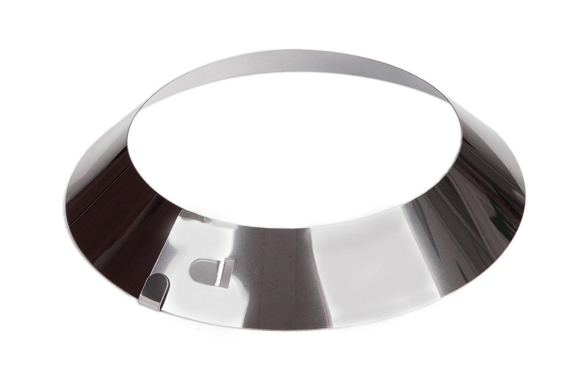 Воротничок декоративный для трубы Нерж. AISI 430